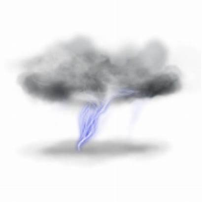 Lightning Clouds Transparent Cloud Background Clipart Icons