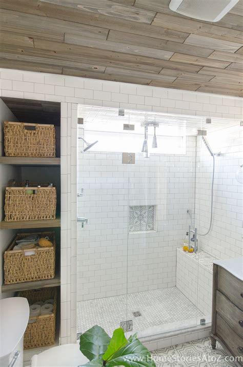 build bathroom shelves   shower