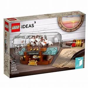 LEGO Ideas Ship In A Bottle 21313 Kopalnia Klockw