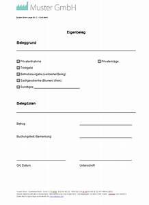 Vordruck Lieferschein : eigenbeleg vorlage muster zum eigenbeleg erstellen ~ Themetempest.com Abrechnung
