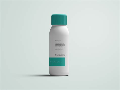 Here is a professional free pills bottle mockup in psd format. Medicine Bottle Mockup - PSD
