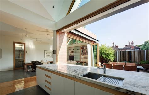 basser house contemporary kitchen melbourne