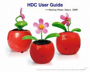 Sz803 720 P Flower Mini Dv User Manual 20110525