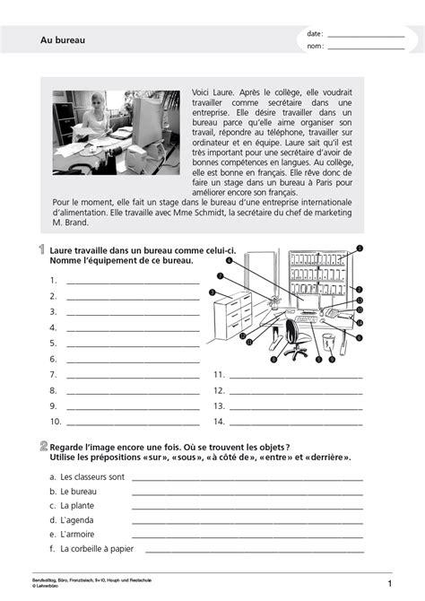 Arbeitsblätter · Sekundarstufe I · Lehrerbüro
