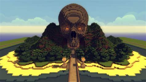 skull mountain im building   server minecraft minecraft architecture minecraft