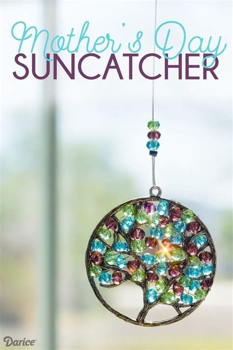 beaded suncatcher mothers day diy mothers day crafts
