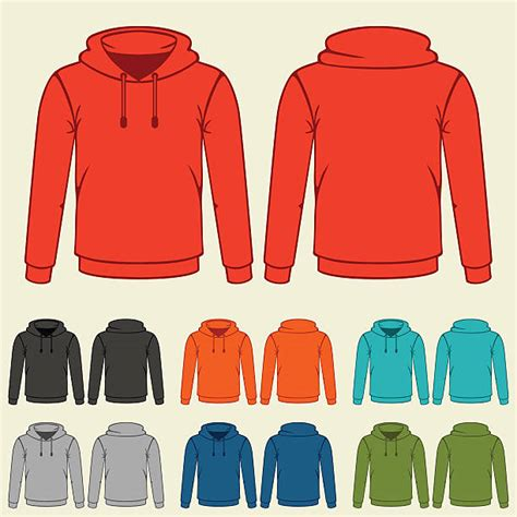 Hoodie Clipart Royalty Free Hooded Shirt Clip Vector Images