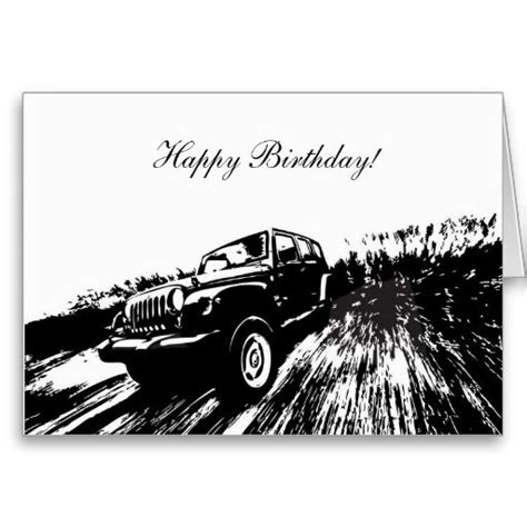 happy birthday jeep images wrangler rolling shot happy birthday greeting cards