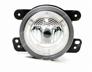 20w Cree Dual Led Fog Lights    Halo Rings Daytime Running