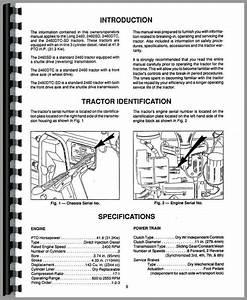 Long 2460 Tractor Operators Manual