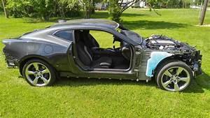 16 Camaro Ss Run  U0026 Drive Donor Lt1 Engine  U0026 Manual Trans