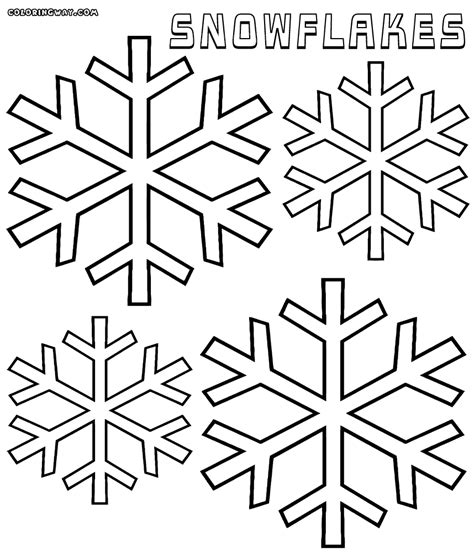 Snowflake Coloring Page Snowflake Coloring Pages Coloring Pages To And