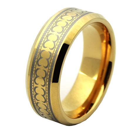 2015 Hot Sell Mens Gold Jewelry Fashion Rings 24k Solid