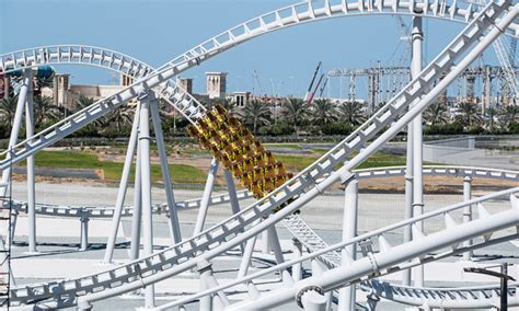 It will contain two 3d screens in the indoor section. New rollercoaster at Ferrari World Abu Dhabi | Things To Do | Time Out Abu Dhabi