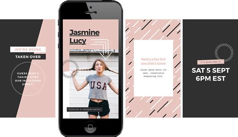 instagram story template how to stand out with 12 free instagram stories templates