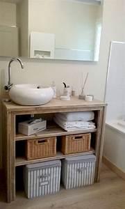 Diy Meuble Salle De Bain : meuble salle de bain pays bois 100 cm meubles salle de bain pinterest meuble salle de bain ~ Mglfilm.com Idées de Décoration