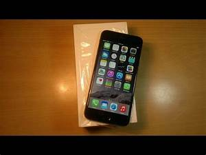 Apple iPhone 6 Unboxing & Hands On(Space Gray) - YouTube
