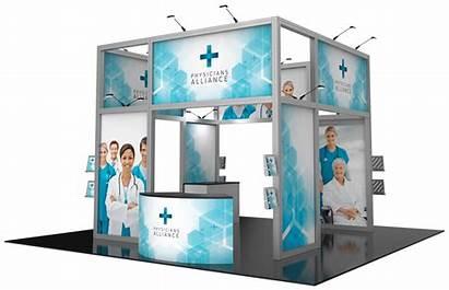 Trade 20x20 Displays Booth Custom Display Printing