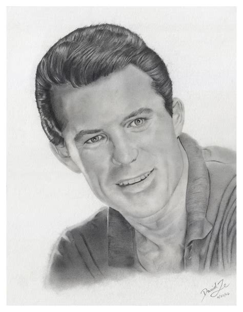 Gesicht Augen Nase Zeichnenportrait Zeichnen Ein Mann