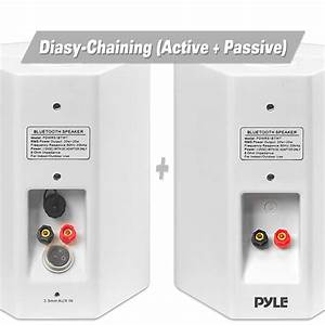 Amazon Com  Pyle Pdwr51btwt Wall Mount Waterproof