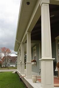 colonnes exterieure With colonne de bois exterieur