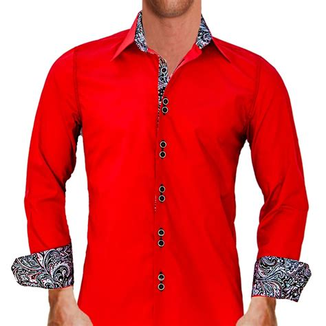 mens designer dress shirts bright dress shirts