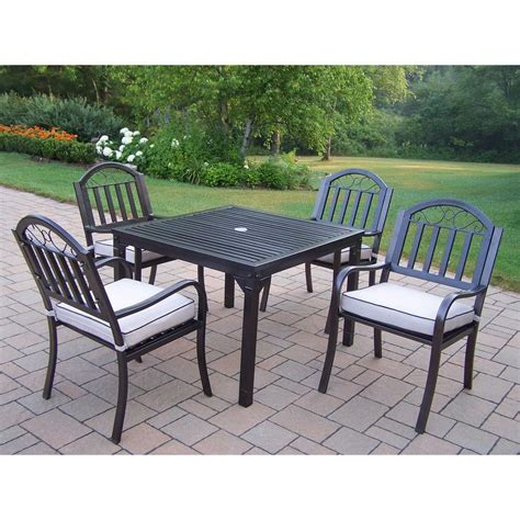 Oakland Living Rochester 5piece Patio Dining Set With. Casual Outdoor Furniture Myrtle Beach. Hotel Patio Furniture Used. Wrought Iron Patio Furniture Bench. Patio Furniture For Sale In Fort Worth Texas. Amazon Patio Furniture Table. Patio Furniture Chandler Arizona. Patio Chair Replacement Cushions Canada. Cheap Teak Patio Furniture