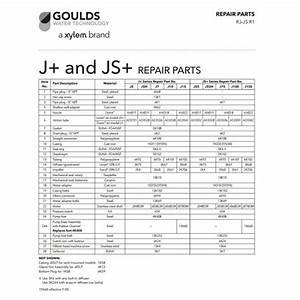 Repair Rebuild Kit For Goulds J10s Jet Water Well Pump 1hp J10s3  U2013 Car Wiring Diagram