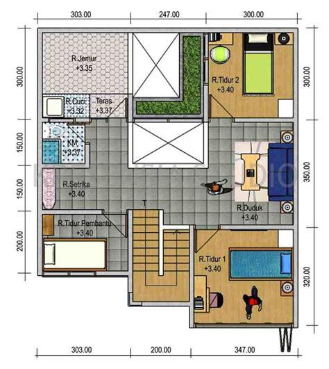 httpinrumahminimaliscom denah rumah sederhana