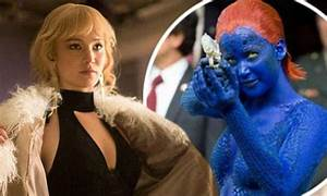 Jennifer Lawrence transforms in X-Men: Days Of Future Past ...