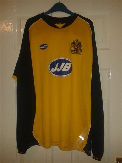 Wigan Athletic Away football shirt 2005 - 2006. Sponsored ...