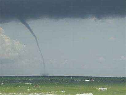 Destin Waterspout Florida Weather Water Fl Spout