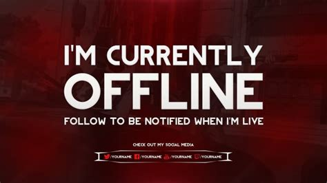 Twitch Be Right Back Screen Template How To by Make You Twitch Offline Brb Or Intermission Screens By