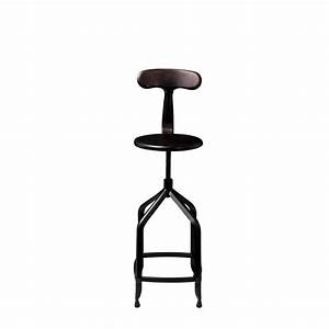 Tabouret De Bar Vintage Rglable Marx The Blog Dco