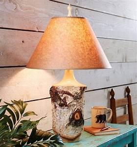 Lampe Aus Baumstamm : 50 ideen f r skandinavische birkenrinde und birkenstamm deko wohnideen und dekoration ~ Orissabook.com Haus und Dekorationen