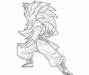 Ssj Goten - Free Coloring Pages