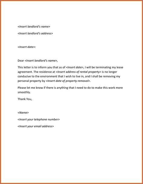 sample termination letter template letters  sample