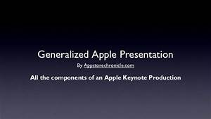 a generic apple quotsteve jobsquot style keynote address With power point templates for mac