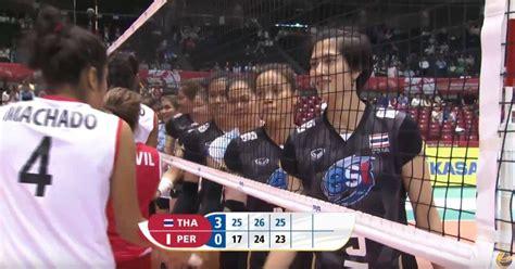 ทีมวอลเลย์บอลหญิงไทย ปิดฉากสมศักดิ์ศรี ตบชนะ เปรู 3 เซตรวด ...