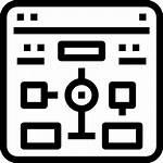 Flowchart Icon Icons Computer