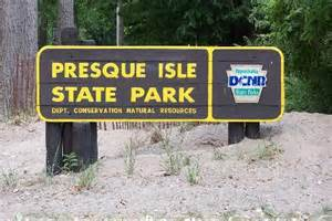 Presque Isle Park Erie PA