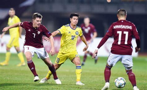 Latvijas futbola izlase UEFA Nāciju līgas mačā nospēlē ...
