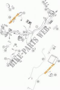Wiring Harness For Ktm 200 Duke Orange Abs 2013   Ktm