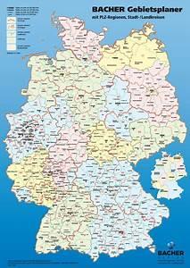 Berlin Plz Karte : deutschland bacher postleitzahlenkarte 1 700 000 bacher verlag onlineshop ~ One.caynefoto.club Haus und Dekorationen