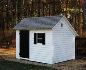 6 x 8 stony brook saltbox shed custom shed
