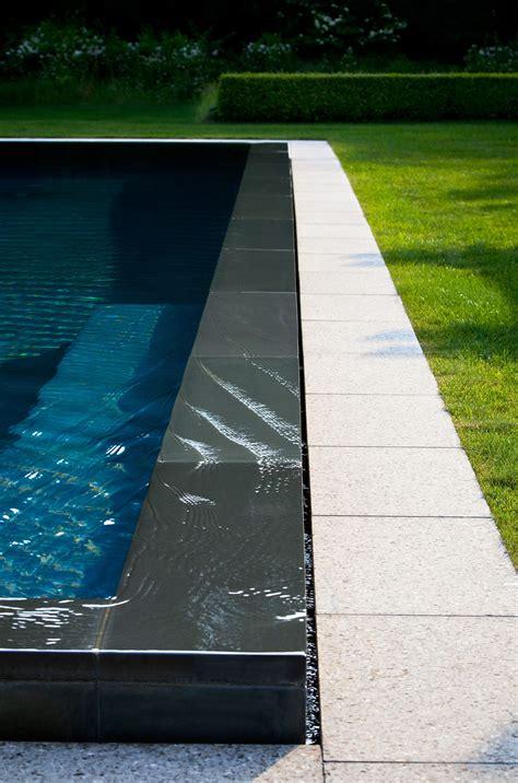 infinity pool           pool im garten