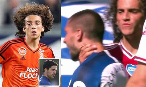 Arsenal bad boy Matteo Guendouzi's former boss at Lorient ...