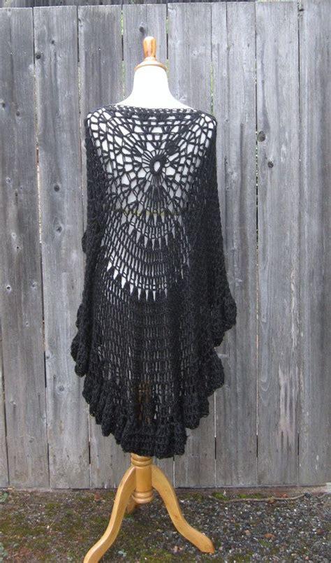 30 Best Circle Vest Images On Pinterest Crochet Clothes
