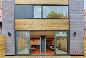 Une touche de modernité pour une maison urbaine québécoise ...