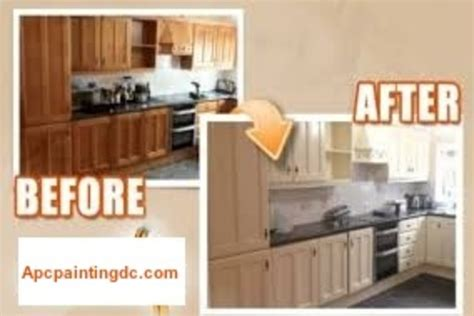 professional kitchen cabinet painting service apc painting